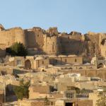 Крепость Нарин в иранском городе Наин - Крепость Нарин-кала - Замок Нарин Кале