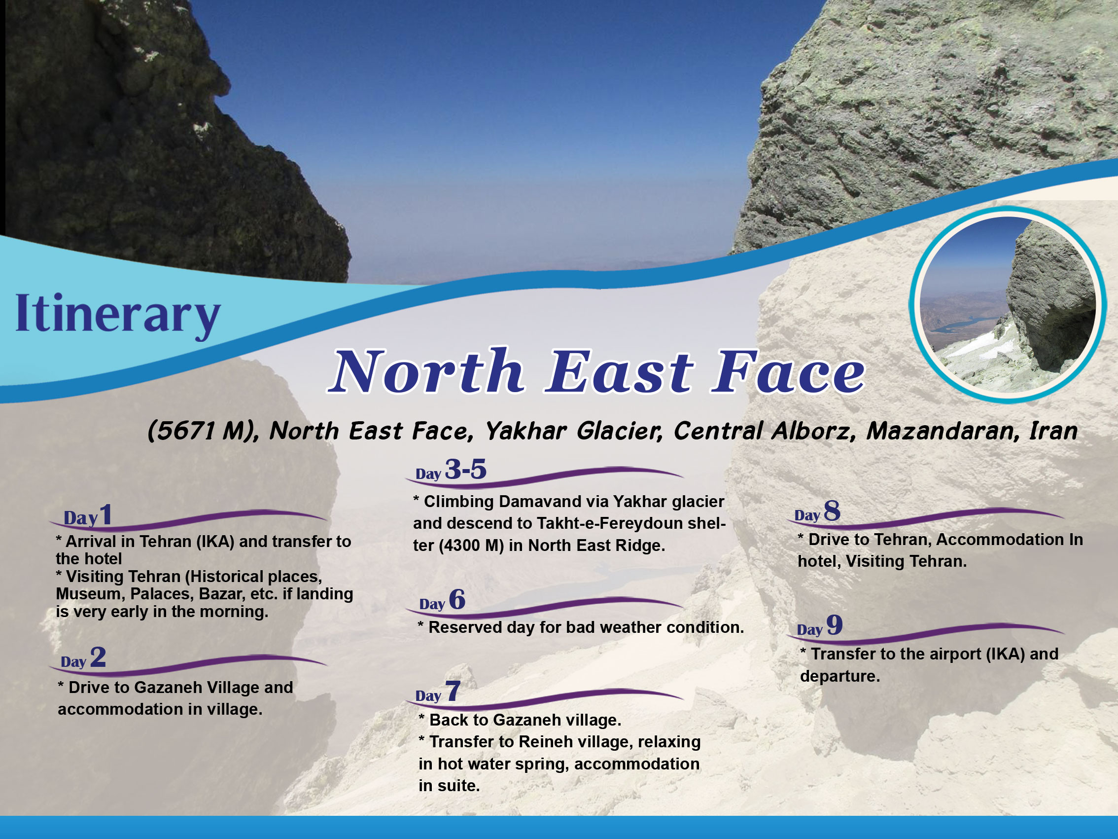 daamavandNorth-East-Face