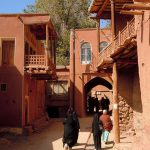 Village Abyaneh, Village historique d'Abyaneh, village rouge à Ispahan.