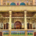 Golestan palace, Golestan palace in Tehran, Golestan palace tiling.