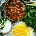 local food-Kashan, Gooshtlobia stew