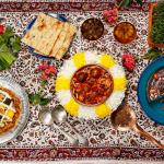 Khoresht-e Khelal, almond pick stew, Khoreshte khelal-e badam