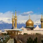 Holy Shrine of Imam Khomeini-Tehran, Ayatollah Khomeini mausoleum