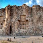 NAQŠ-E ROSTAM, Naghsh-e Rostam. Naqsh-e Rustam-necropolis -Iran.