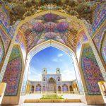 pink mosque, Nasir mosque, Iran pink mosque, Nasir al-Mulk- Shiraz –Iran, Pink mosque of Shiraz.