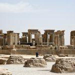 Pasargadae historical site, Pasargadae Fars Iran, historical site in Iran, Persian historical site. Pasargadae Iran.