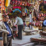 bazaar, Persian market.