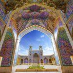 Nasir Al-Mulk Mosque, Nasir mosque, Iran pink mosque, Nasir al-Mulk- Shiraz –Iran, Pink mosque of Shiraz