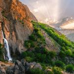 ShahanDasht, Shahandasht waterfall.
