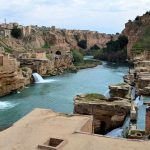Abshari Sika, Shushtar waterfall complex, hydraulic system Shushtar Sika historical.
