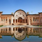 Tabatabaee House, grand Persian architecture, historical house in Kashan, Kashan's historical monument.
