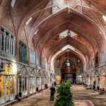 world's largest roofed market in Tabriz, Iran's Tabriz Grand Bazaar, Tabriz historic grand Bazaar.