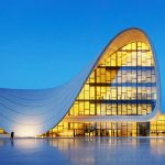 Heydar aliyev cultural center- Baku- Azerbaijan
