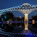 nature bridge, Nature Bridge in Tehran, Nature Bridge-Tehran Iran.