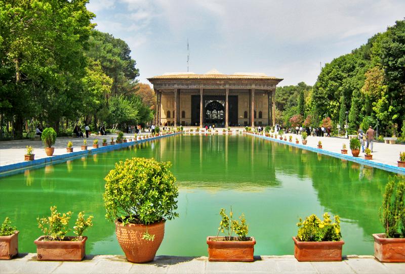 Chehelsotoun Garden- Isfahan, Chehelsotoun- Isfahan