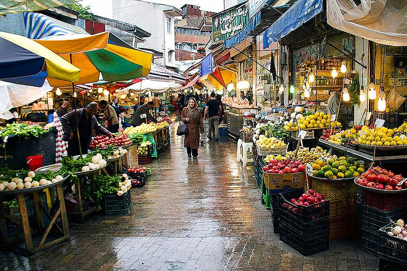Local Bazaar- Iran. Rural market-Iran, Daily markets- Iran.