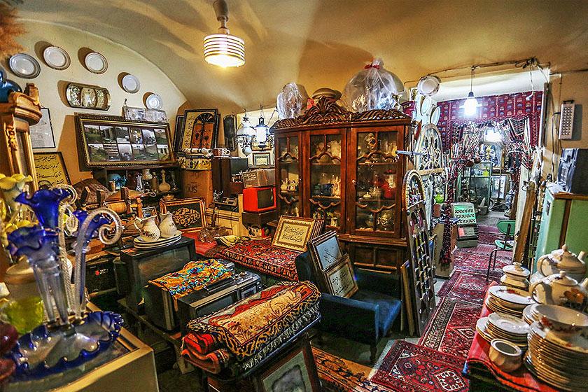 Persian Antiques market.