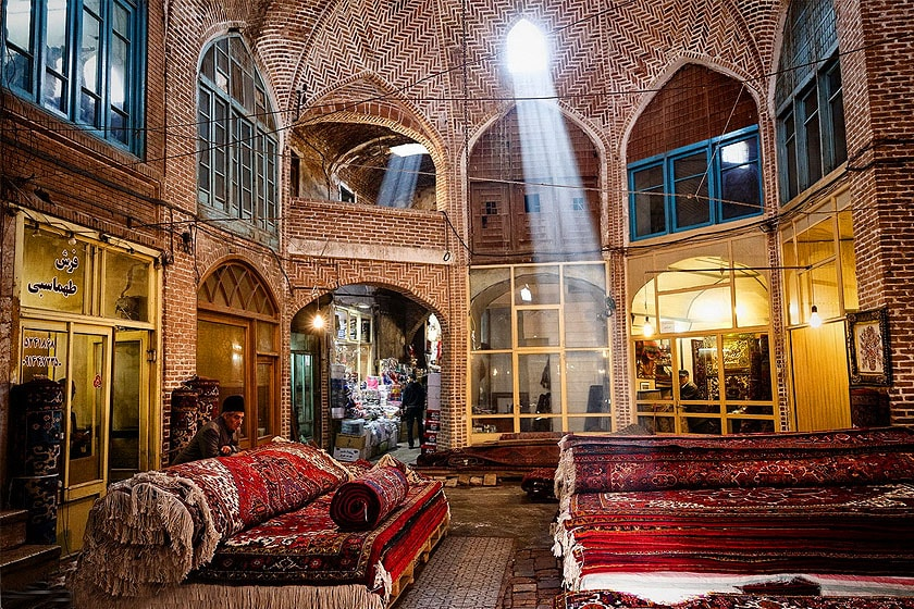 Tabriz Grand Bazar, Grand Bazaar of Tabriz, Tabriz Roofed Bazaar, covered Bazaar.
