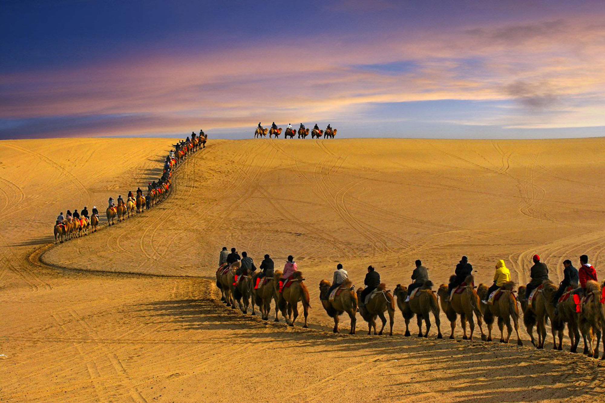 Silk Road Caravans