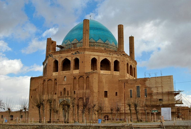 Dome of Soltaniyeh in Zanjan, Soltaniyeh Dom.