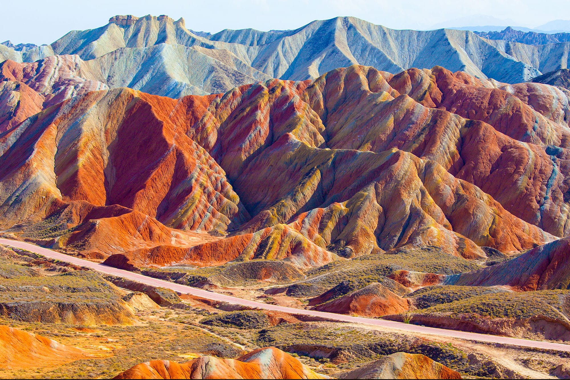 The Silk Road path