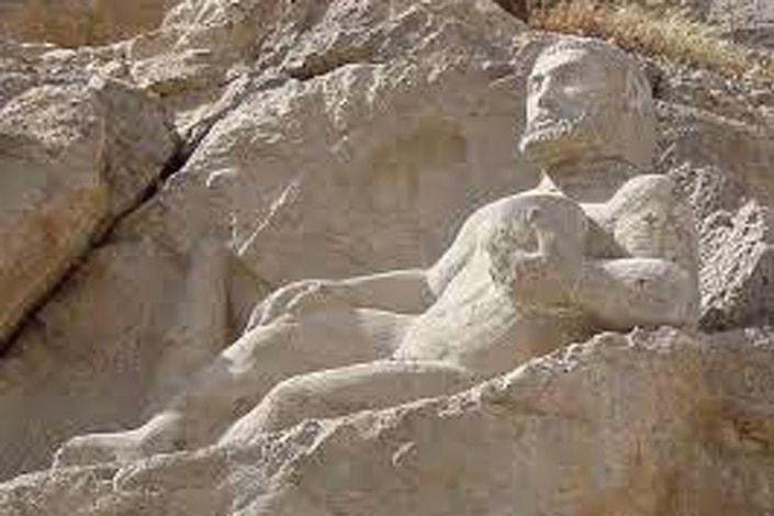 Hercules statue – Kermanshah, Hercules figure- Behistun.