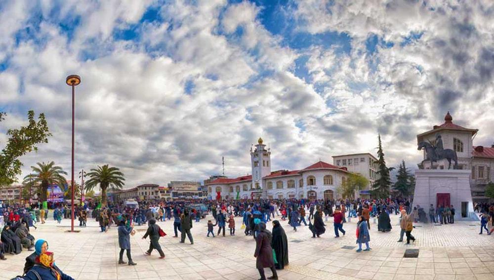 Municipality square- Rasht