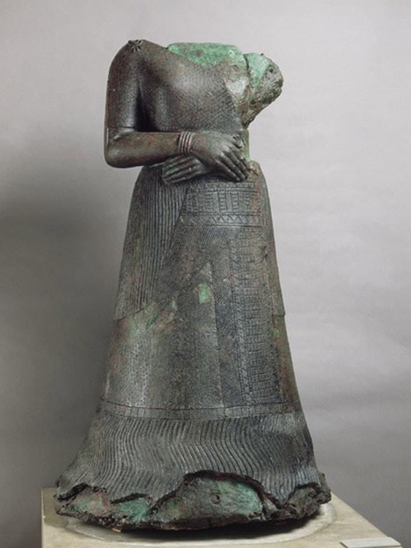 Statue of Queen Napirasu, wife of King Untash-Napirisha-min