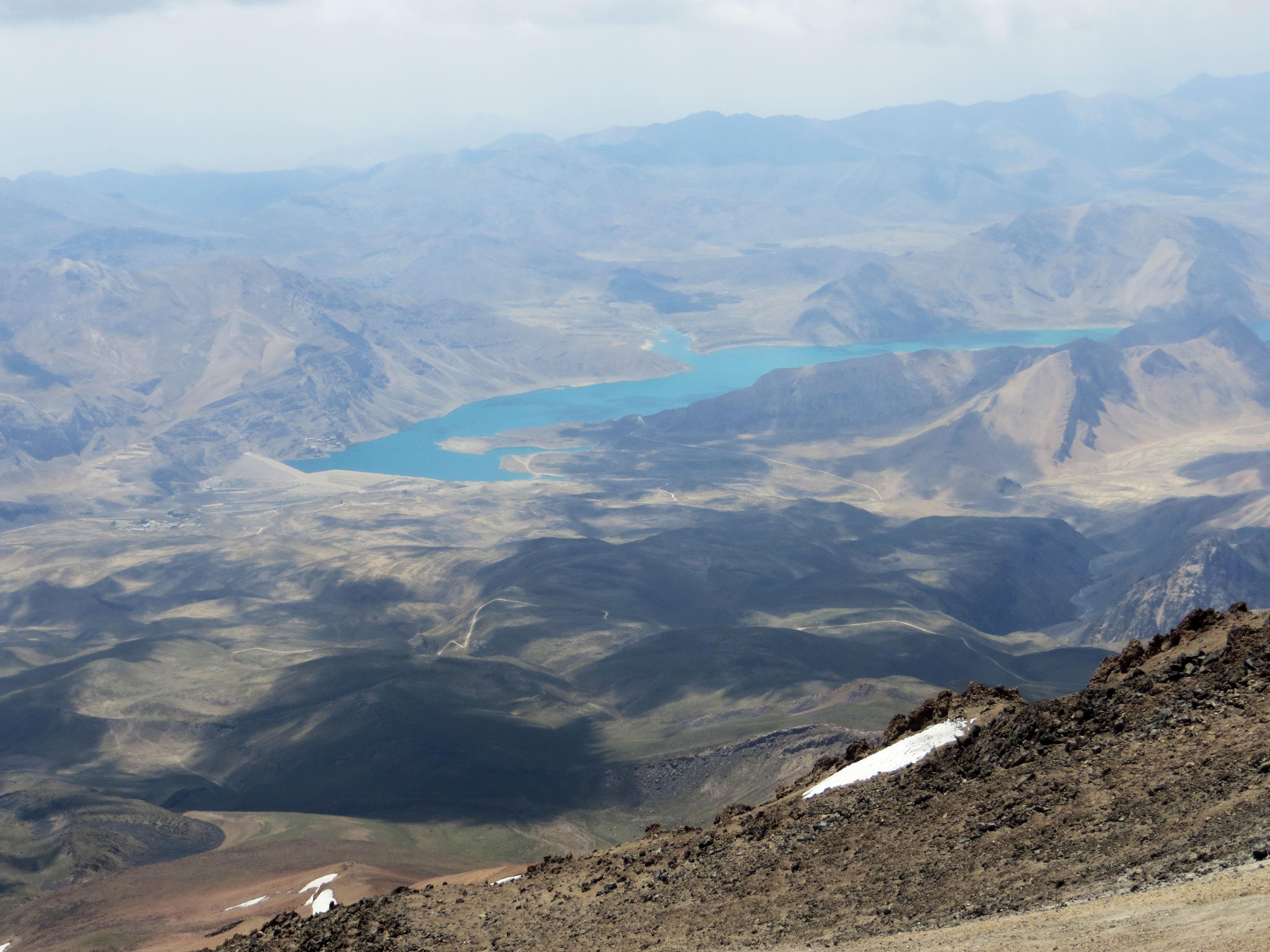 02. Lar Lake From 5300 m of Damavand