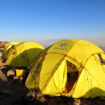 Camp at Damavand (4150 m)
