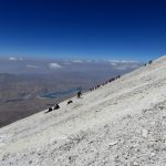 Toward Damavand Summit