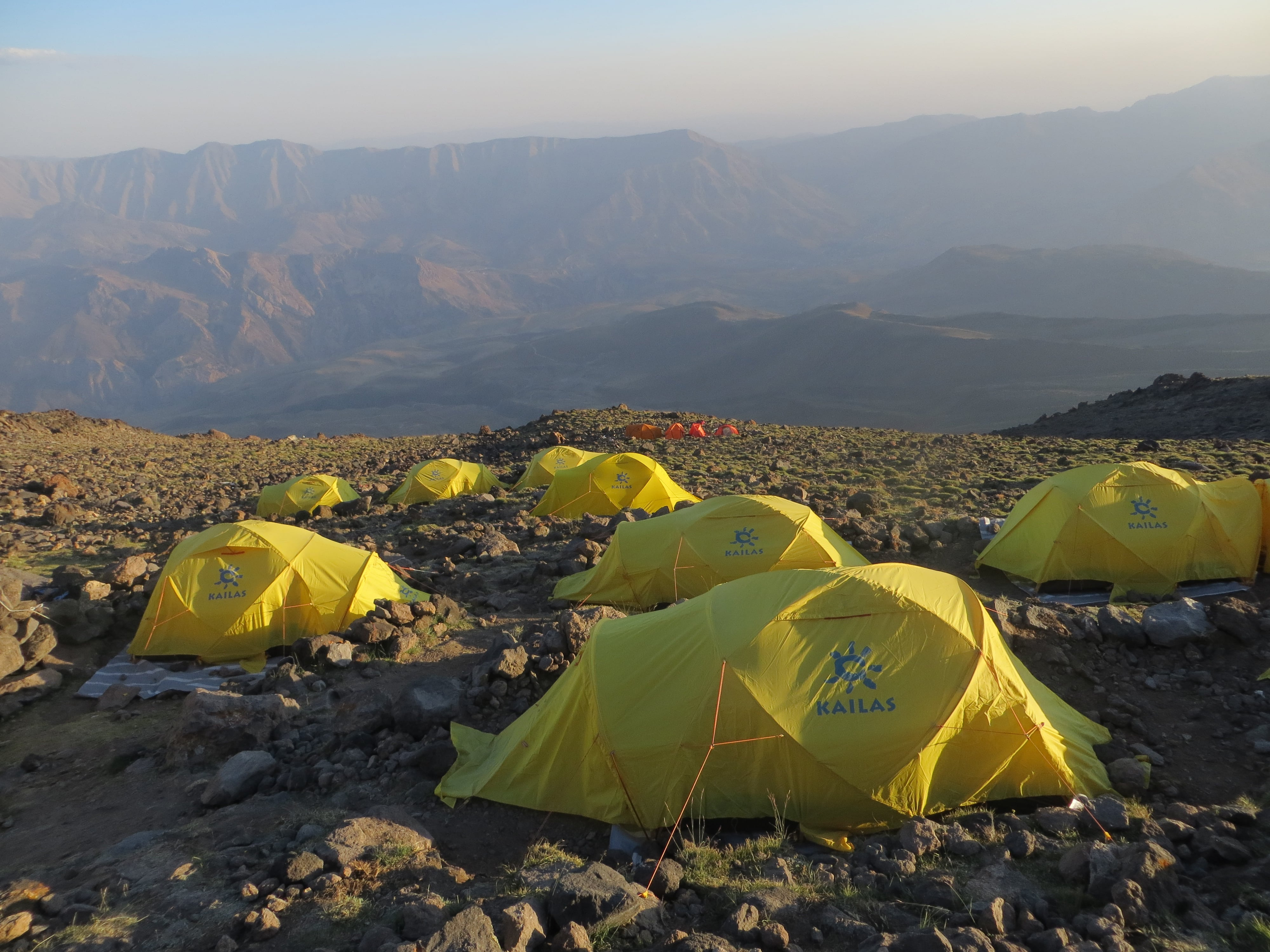 10. Tent in Camp 3 (4150 m)