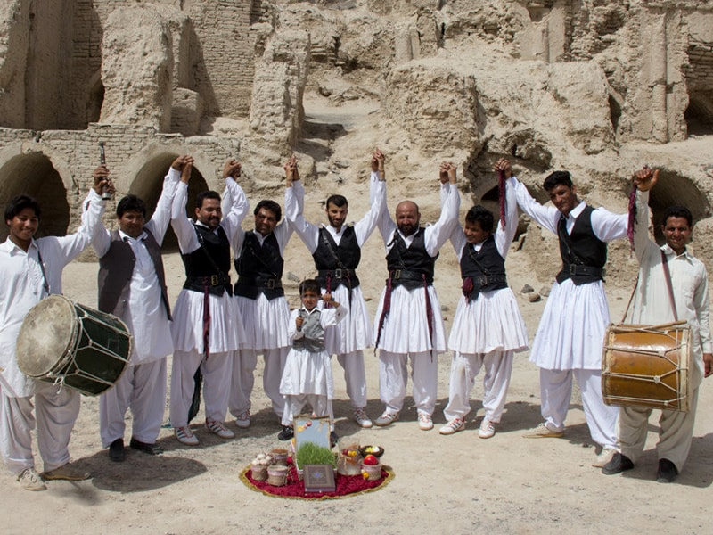 Balochi men