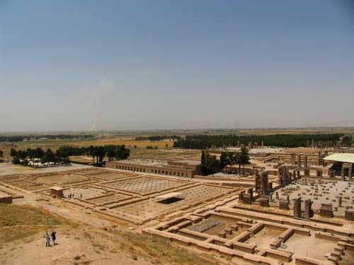 Persepolis ruins, Takht-e Jamshidruins, Prsepolis - Shiraz