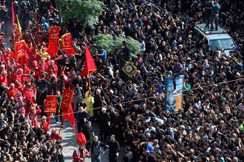 Ashura Mourners