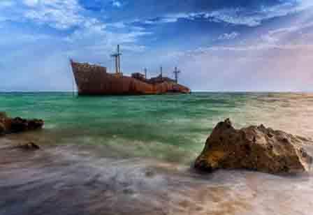 Greek ship- Kish