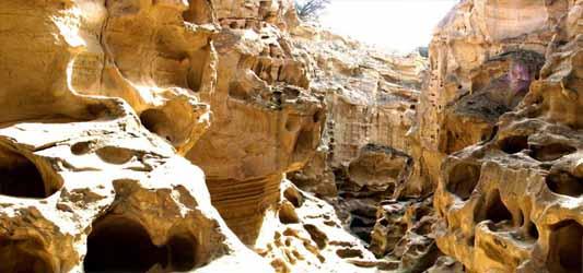 Chahkooh canyon-Qeshm