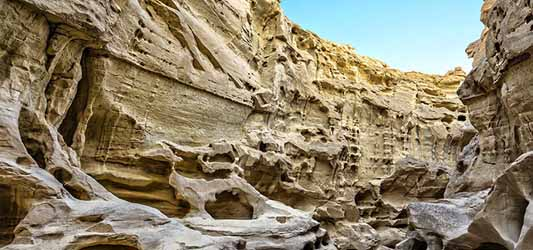 Chahoo canyon- Qeshm