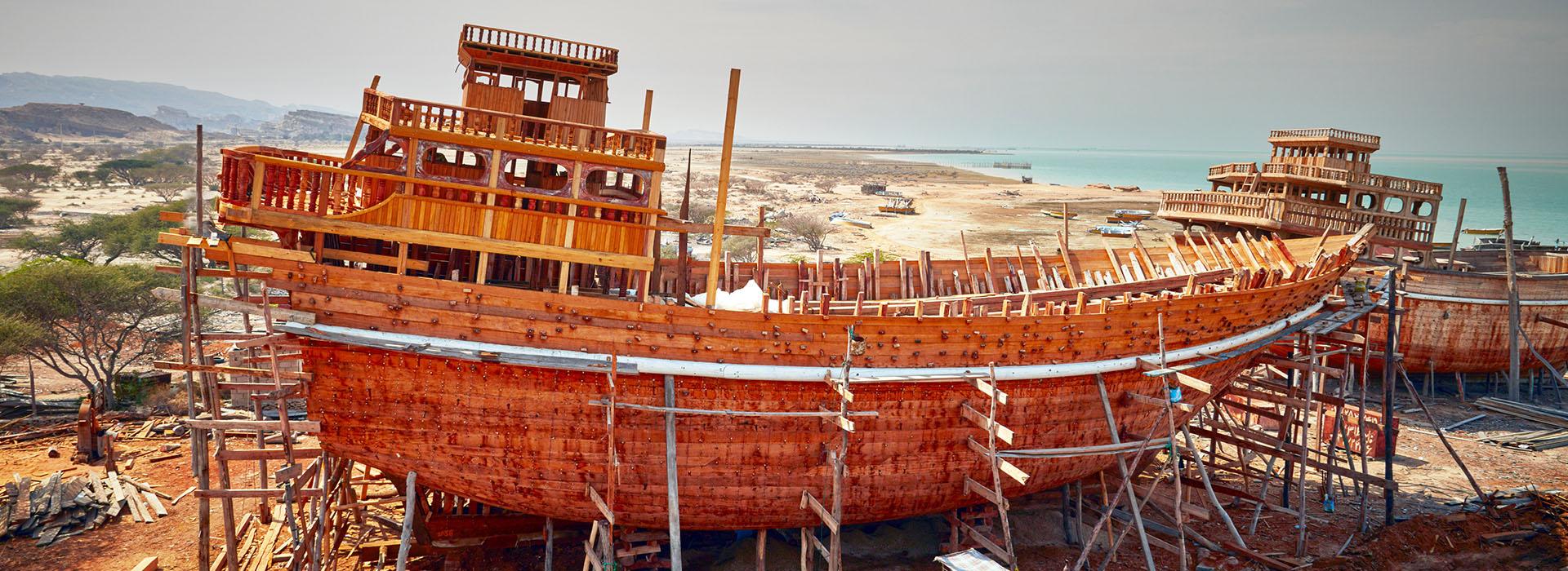 local Boat Builders-Qeshm