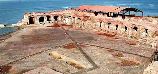 Qeshm-Portuguese castle, Portuguese castle in Qeshm
