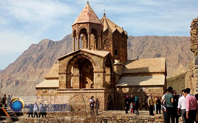Two Armenian churches in Iran