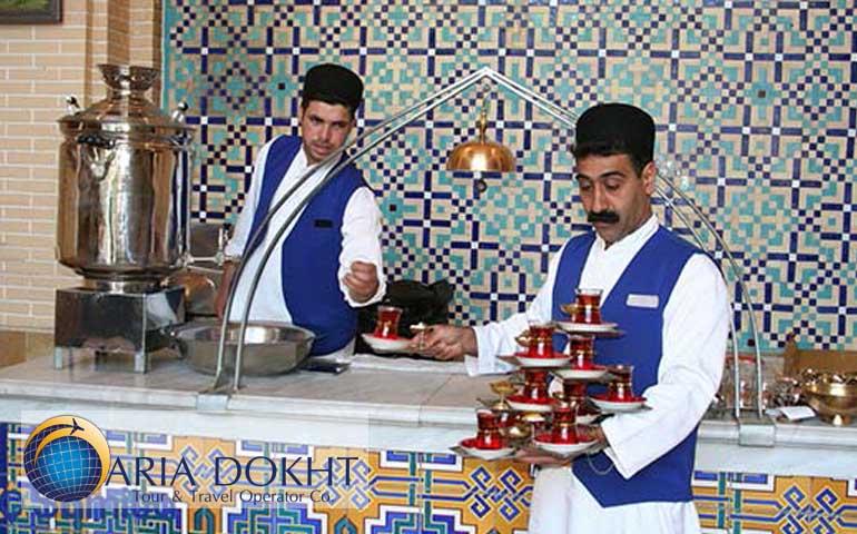 traditional tehousein iran, traditional teahouse