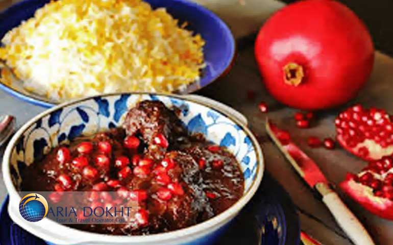 Pomegranate, Persian Pomegranate, fruit, seeds, red seeds, Iranian cuisines.