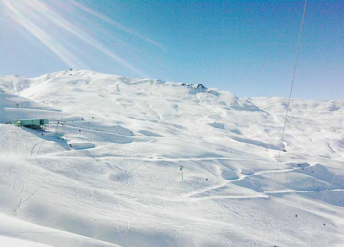 Dizin-Skiing-Piste