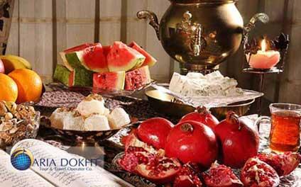 Yalda, Yalda night, Iranian traditional celebration, celebration, tradition,Yalda, Shahnameh, Hafez,