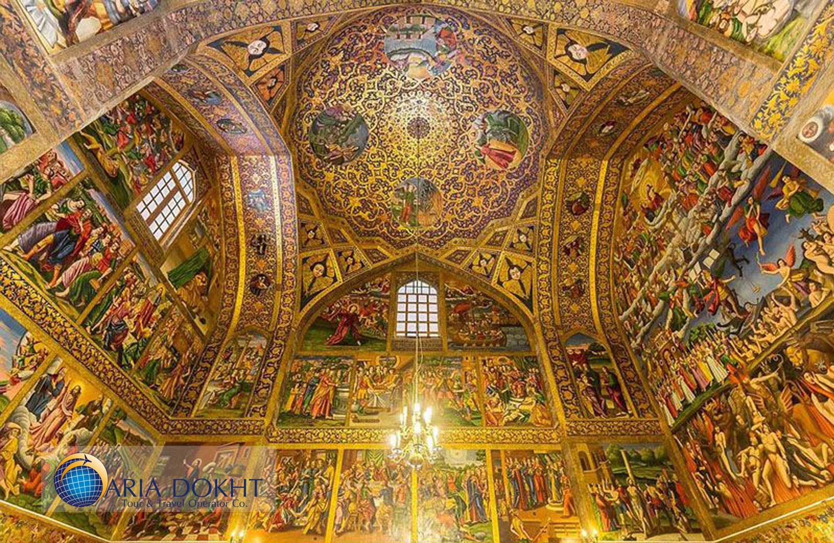 vank Catedral in Isfahan