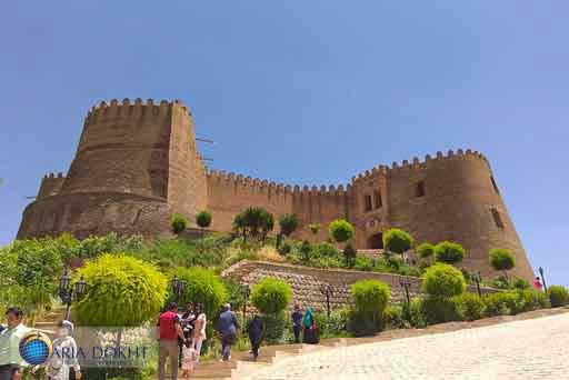 Falak-ol-Aflak-Fortress