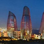 Flame-towers, Baku- Azerbaijan