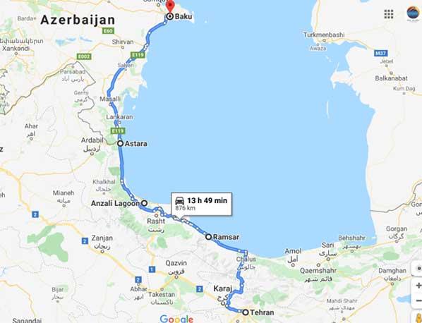 Iran---Azerbaijan
