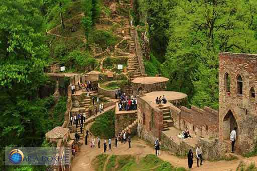 Roodkhan-Castle